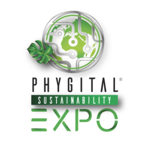 Phygital Sustainability Expo logo evento moda sostenibile roma